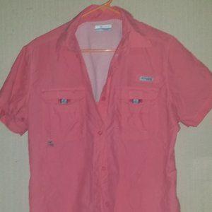 Women's Columbia fishing shirt size large